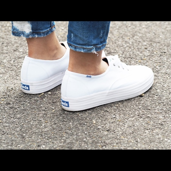 Keds Womens Triple Platform Sneakers